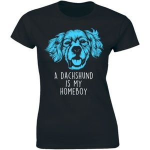 A Dachshund Is My Homeboy Weiner Dog Lover T-shirt